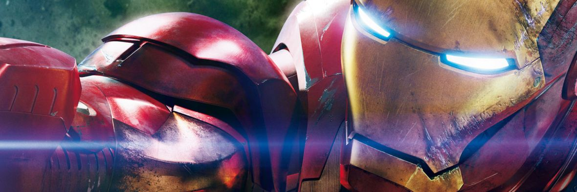 Iron man close up